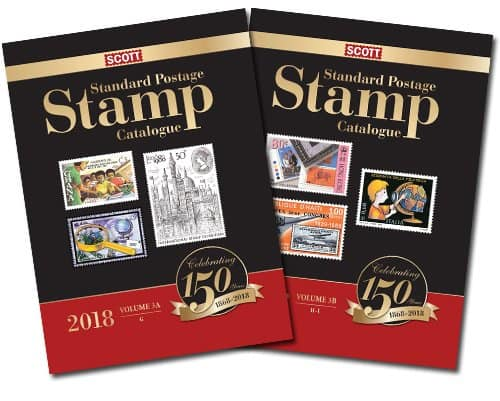 2018 Scott Standard Postage Stamp Catalogue – Volume 3 (G-I)