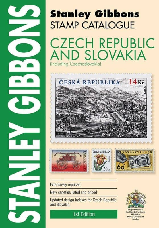 Stanley Gibbons Czech Republic & Slovakia Stamp Catalogue – 1st Edition