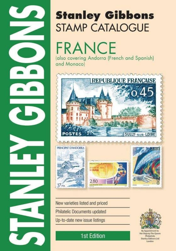 Stanley Gibbons France Stamp Catalogue – 1st Edition