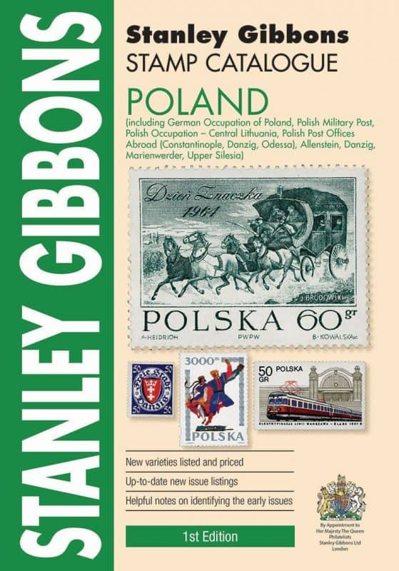 Stanley Gibbons Poland Stamp Catalogue – 1st Edition