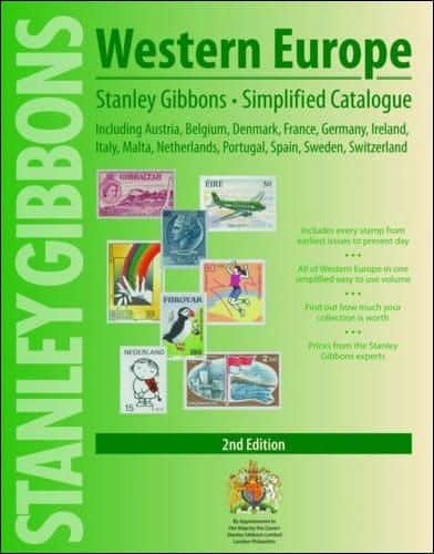 Stanley Gibbons Western Europe Simplified Stamp Catalogue – 2nd Edition