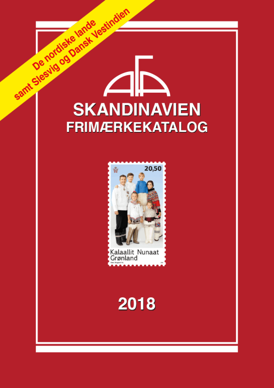 AFA Skandinavien Frimærkekatalog 2018