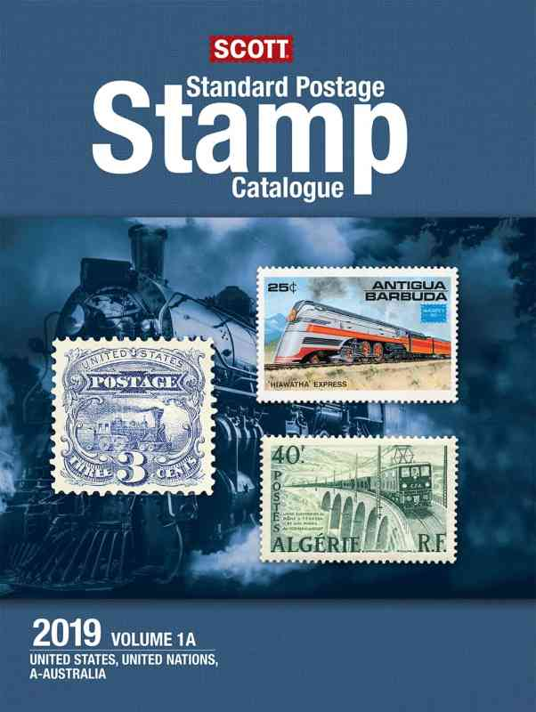 Scott 2019 Scott Standard Postage Stamp Catalogue – Vol. 1 (US & A-B)