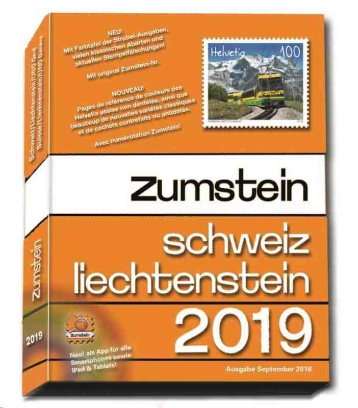 Zumstein Schweiz/Liechtenstein 2019