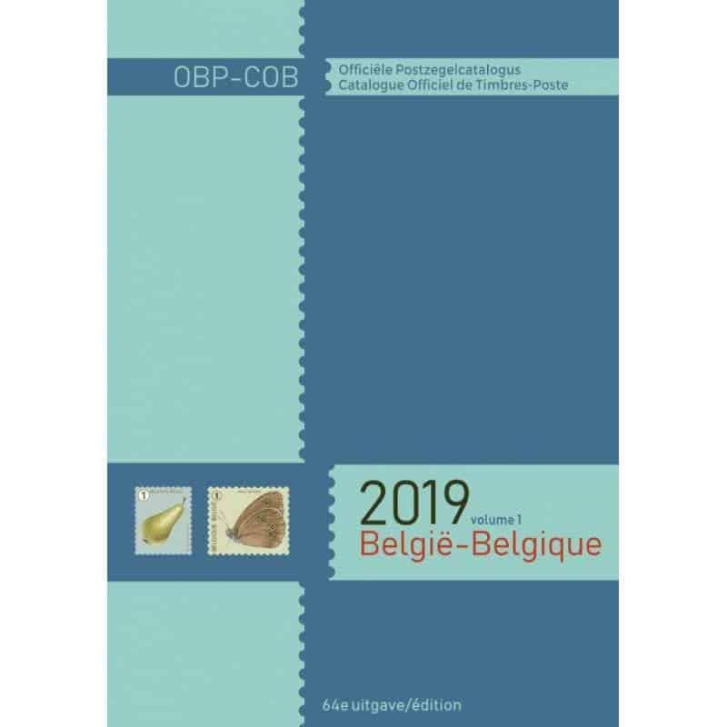 OBP-COB. België/Belgique 2019