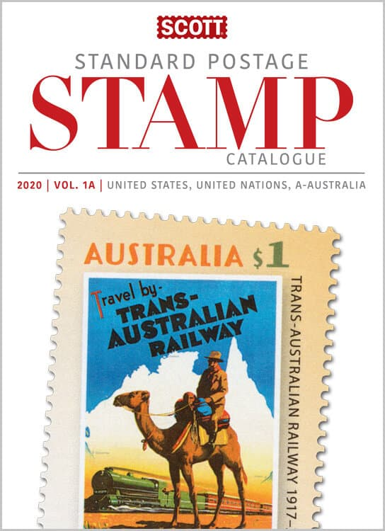 2020 Scott Standard Postage Stamp Catalogue – Volume 1 (US & A-B)