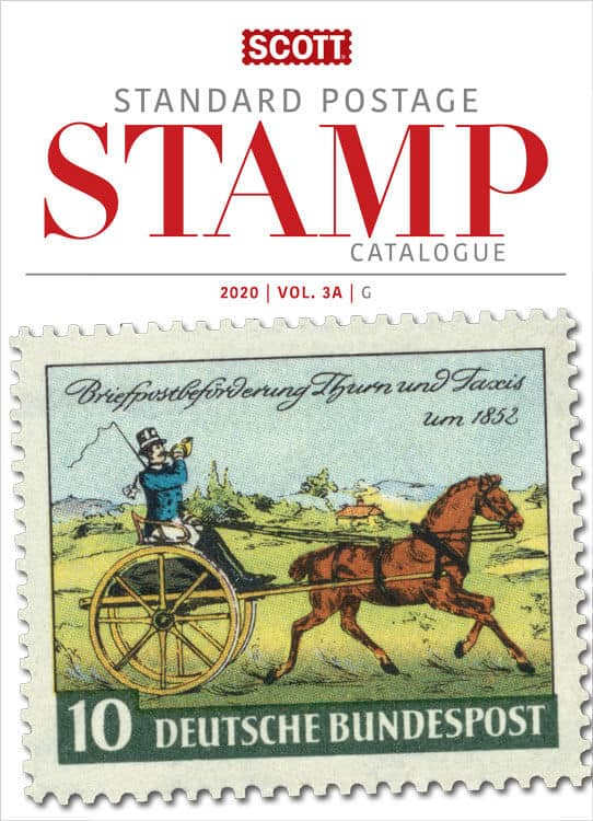 2020 Scott Standard Postage Stamp Catalogue – Volume 3 (G-I)