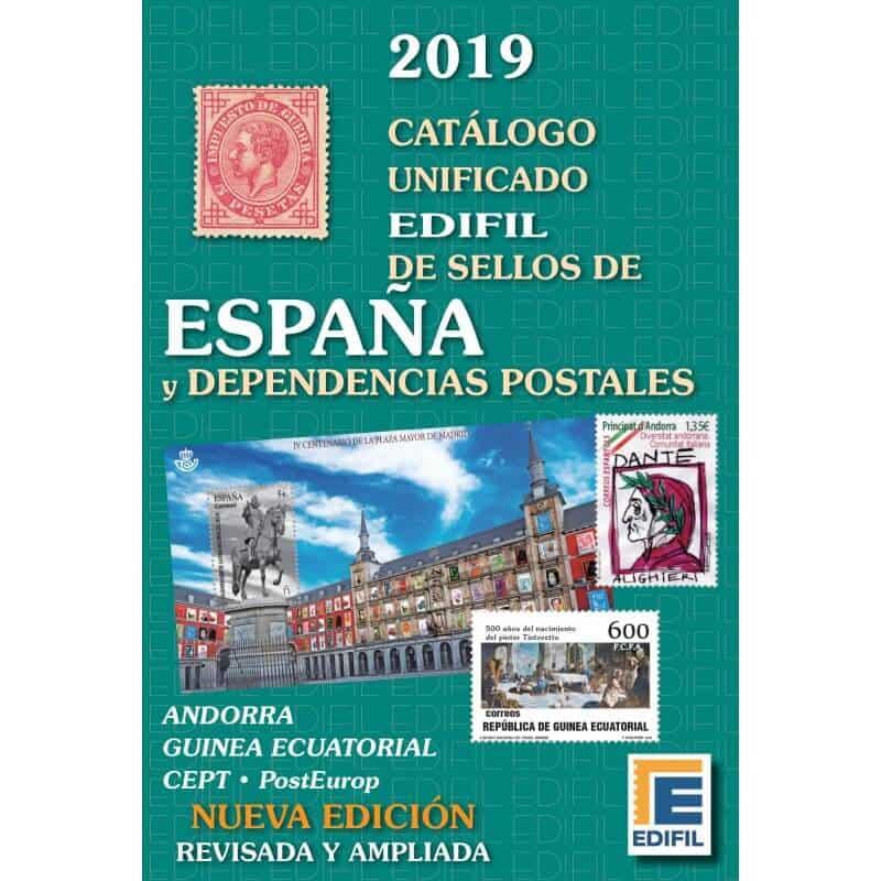 Catálogo Unificado EDIFIL de Sellos de España y Dependencias Postales 2019