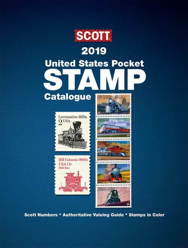2019 Scott U.S. Pocket Stamp Catalogue