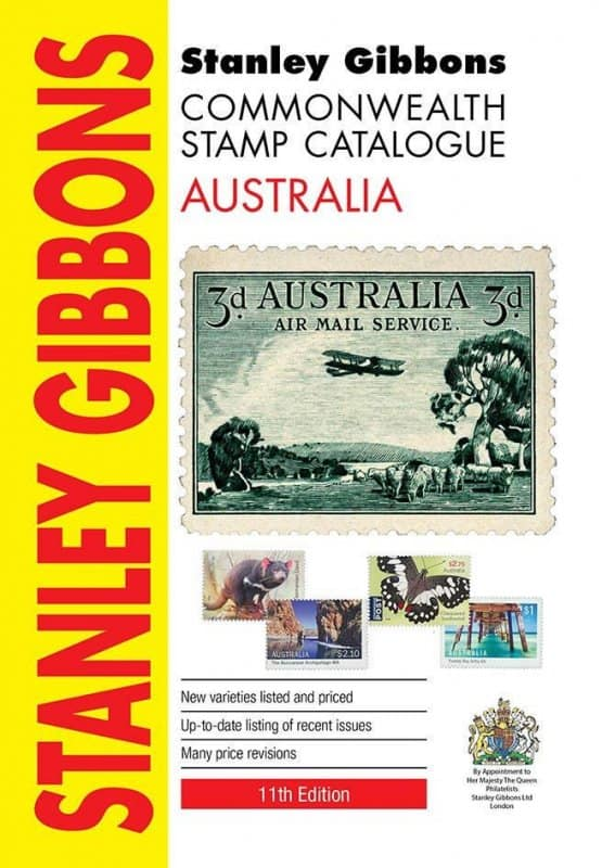 Stanley Gibbons Common Wealth Stamp Catalogue Australia – 11th edition