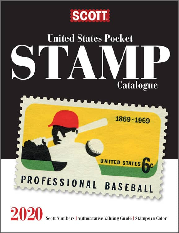 2020 Scott United States Pocket Stamp Catalogue