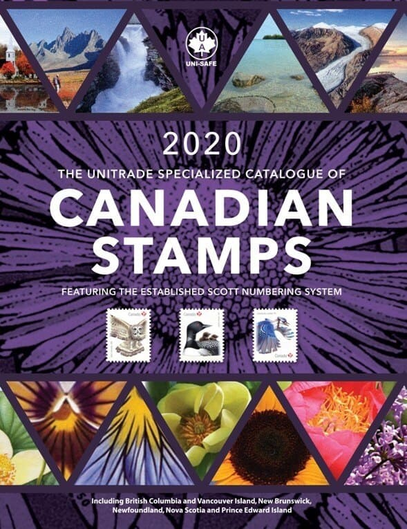 2020 Unitrade Specialized Catalogue of Canadian Stamps