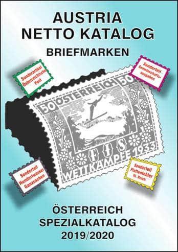 Austria Netto Katalog (ANK) – Stamps Austria Special Catalog 2019/2020