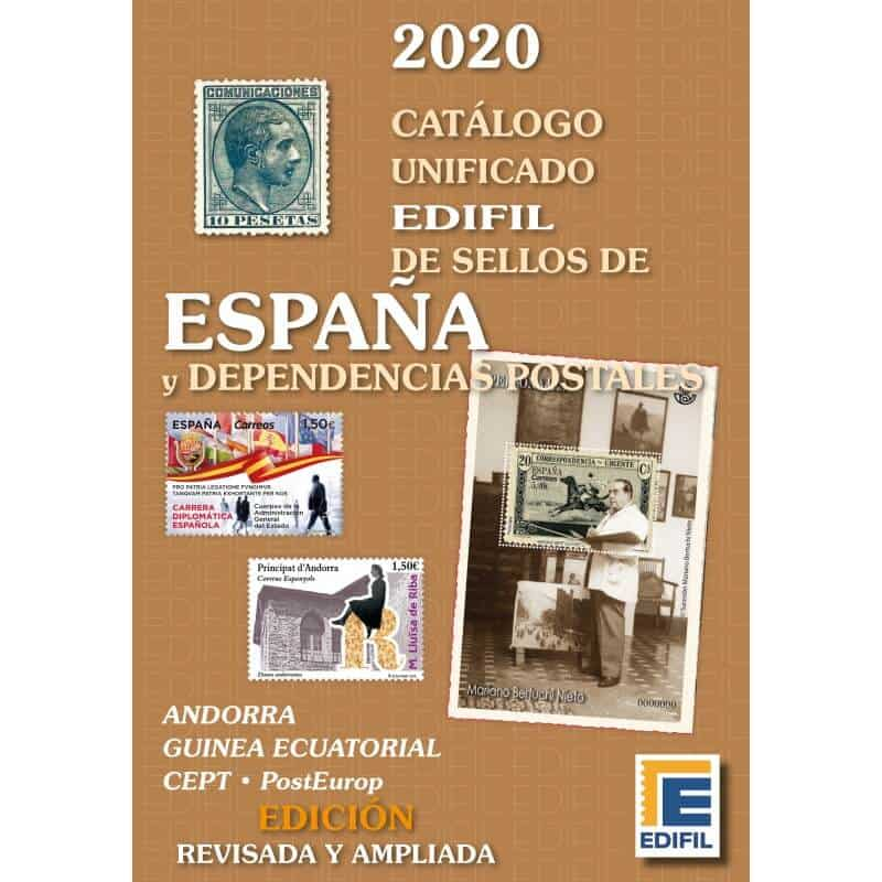 Edifil Catalog of Stamps of Spain and Dependencies 2020