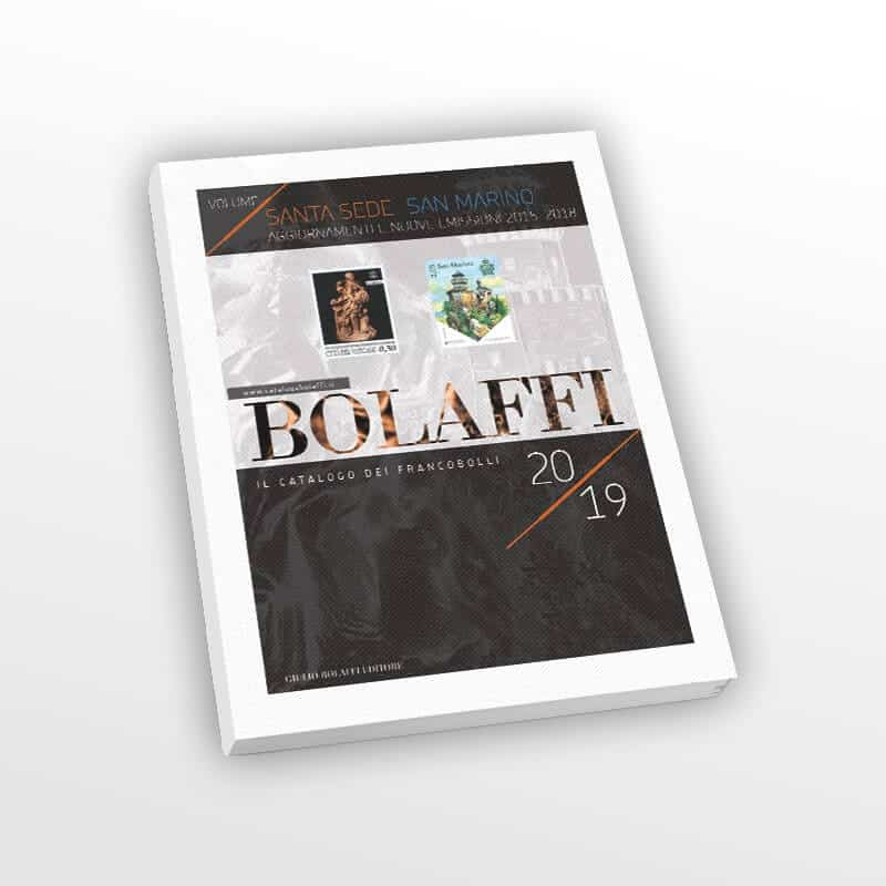 Bolaffi Catalog, Vatican Stamps and San Marino 2019