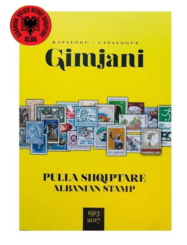 Catalogue Gimjani  – Albanian stamps 1913-2017