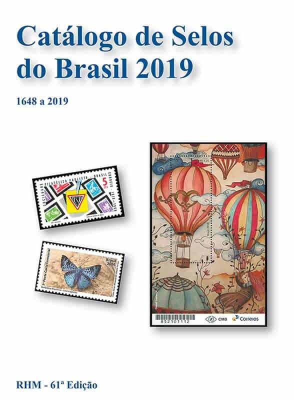 RHM Brazil Stamp Catalog 2019 – 61st Edition