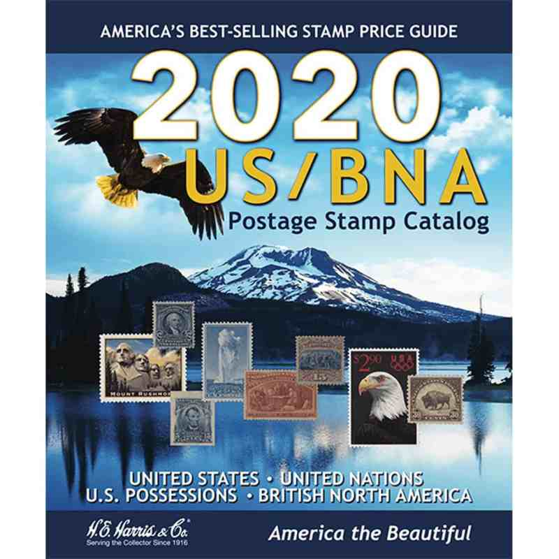 2020 US/BNA Postage Stamp Catalog