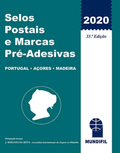 Mundifil Portugal 2020 Stamp Catalog