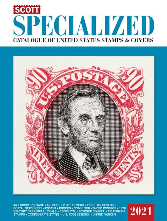 2021 Scott Specialized Catalogue Of United States Stamps And Covers