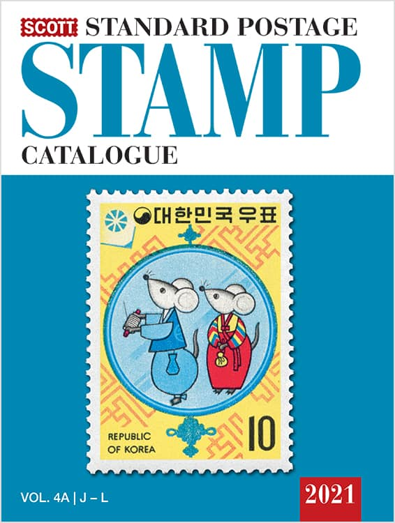 2021 Scott Standard Postage Stamp Catalogue – Volume 4 (J-M)