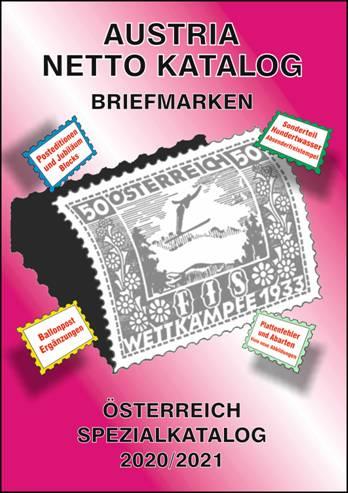 Austria Netto Katalog (ANK) – Austria Special Stamp Catalogue 2020/2021
