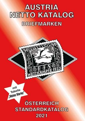 Austria Netto Katalog (ANK) – Austria Standard Stamp Catalogue 2021