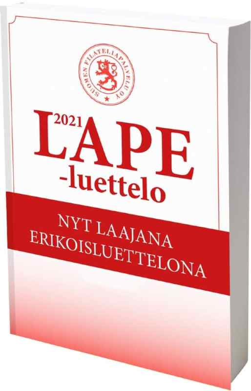 LAPE 2021 – Finnish Stamp Catalogue