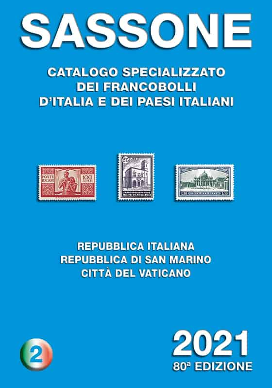 Sassone Special Stamp Catalogue 2021 – Volume 2