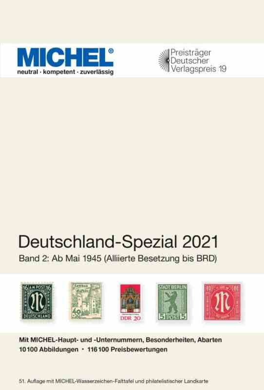 Michel Germany Specialized 2021 – Volume 2 (from 1945)