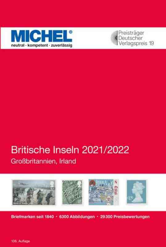 Michel British Isles 2021/2022