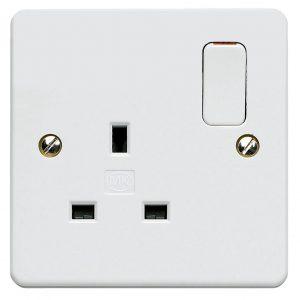 electricity type G socket