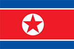 North Korean flag (Wikimedia Commons)