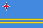 Aruban flag courtesy of Wikimedia