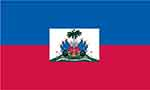 Haitian flag courtesy of FlagPictures.org