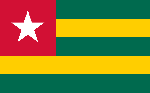Togo flag courtesy of Wikipedia