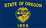 Oregon's state flag courtesy of FlagPictures.org