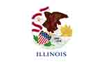 Illinois state flag courtesy of FlagPictures.org