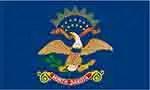 North Dakota state flag courtesy of FlagPictures.org