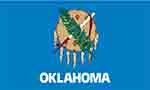 Oklahoma state flag courtesy of FlagPictures.org