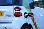 Plug-in electric car (courtesy of Pixabay.com)