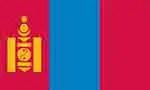 Mongolia's flag (courtesy of Pixabay.com)
