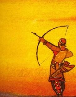 Motives - N. Roerich: Archer