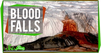 Antarctica Blood falls Mystery