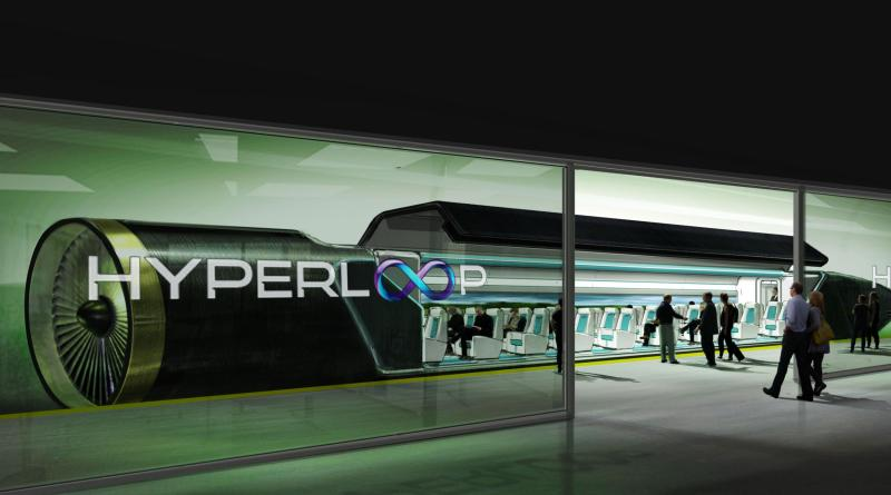 Hyperloop NY-DC Time travel