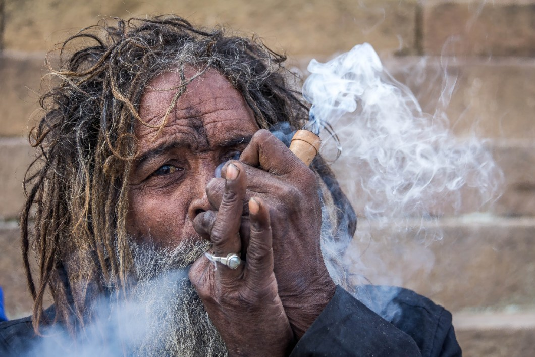 Cannabis for Nirvana Ritual of Aghori Sadhus in Himalayas