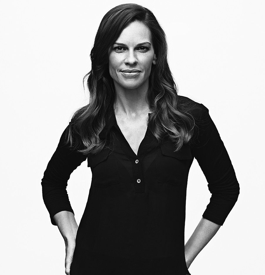 Hilary Swank hollywood celebrity past