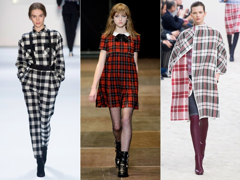 70's chequered FALL Fashion Trends 2017