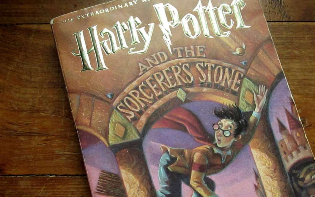 J.K Rowling's Harry Potter and the Sorcerer's Stone Children's book