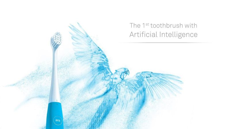 robotic toothbrush with Artificial Intelligence is another latest medical gadget